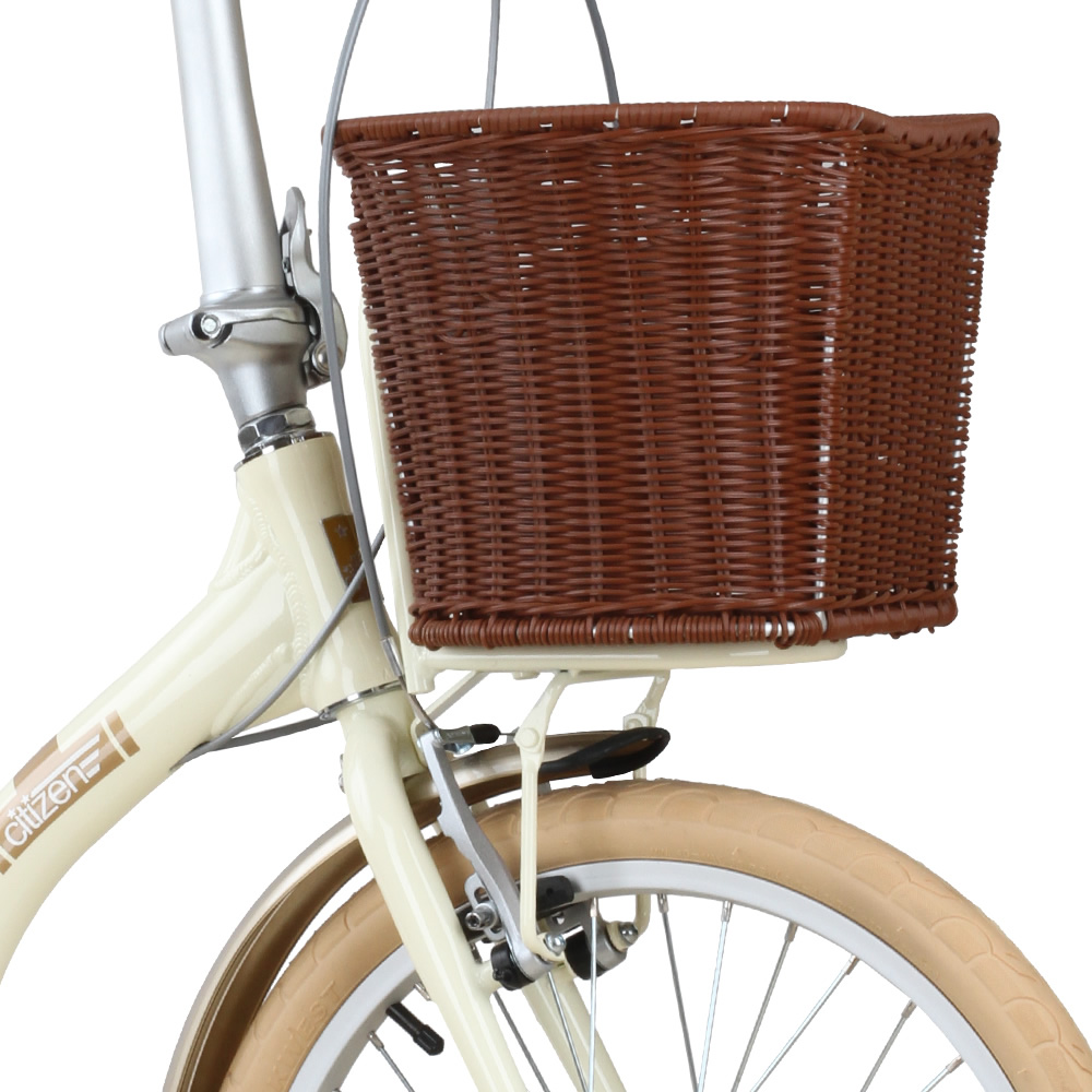 Deluxe Rattan Basket for BARCELONA Citizen Bike