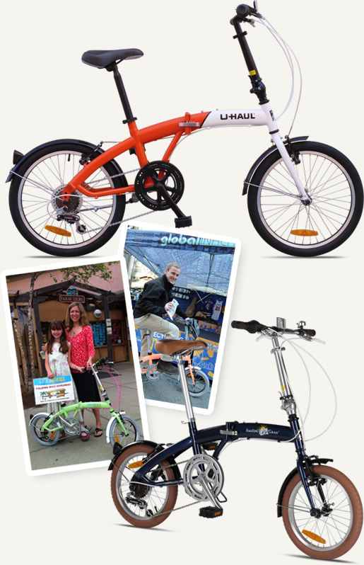 Citizen Bike Custom Corporate and Promotional Programs for Folding Bikes