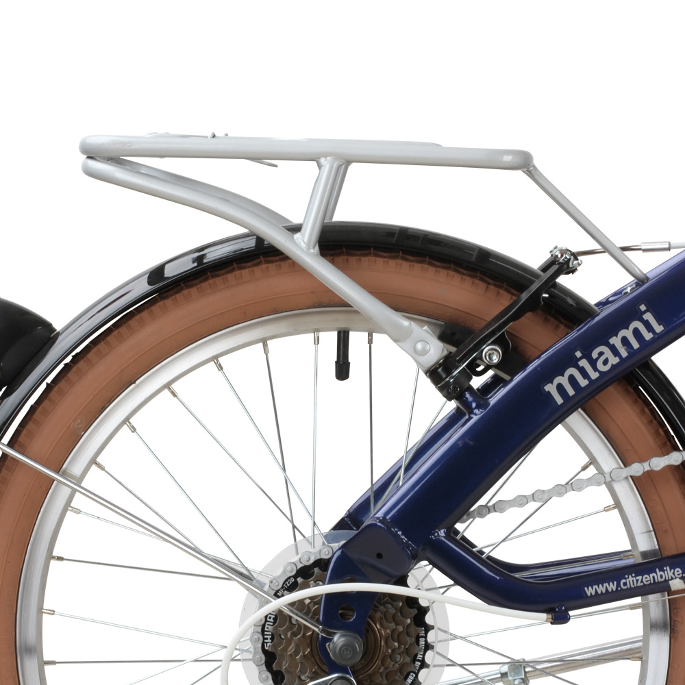 Rear Carrier Rack for MIAMI Citizen Bike