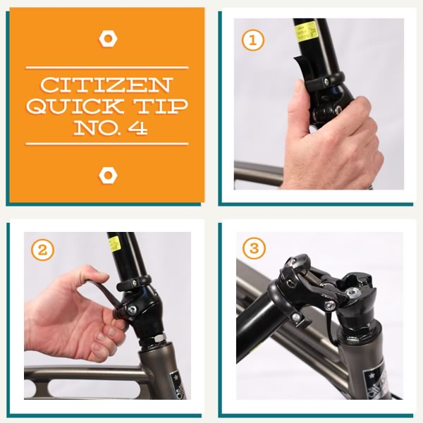 Citizen Quick Tip No. 4 - Folding your handlebar stem