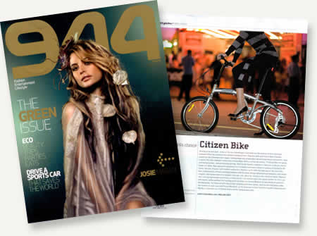 Citizen Bike Rewiew in 944 Magazine