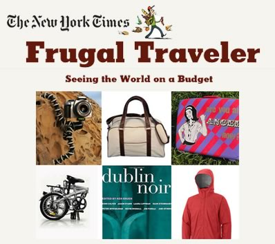 Citizen Bike in The New York Times Frugal Traveler