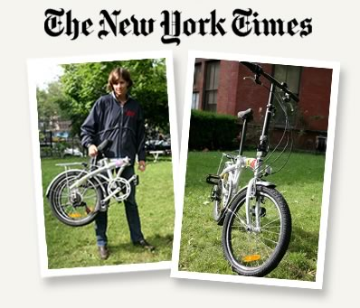 Citizen Bike in The New York Times