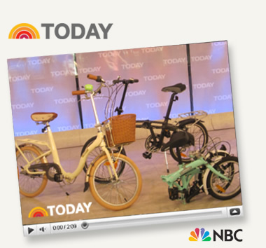 Citizen Bike on NBC's Today Show