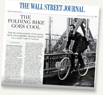 Citizen Bike in The Wall Street Journal