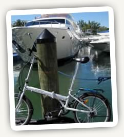Citizen Bike at the marina