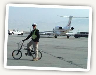 Citizen Bike in Bagram, Afghanistan