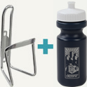 folding bike water bottle cage