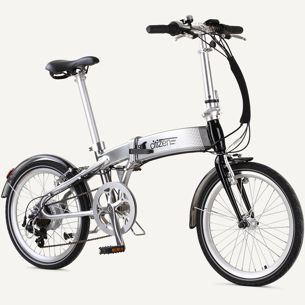 "FRISCO Citizen E-Bike 20"" 7-speed Folding Electric Bike"