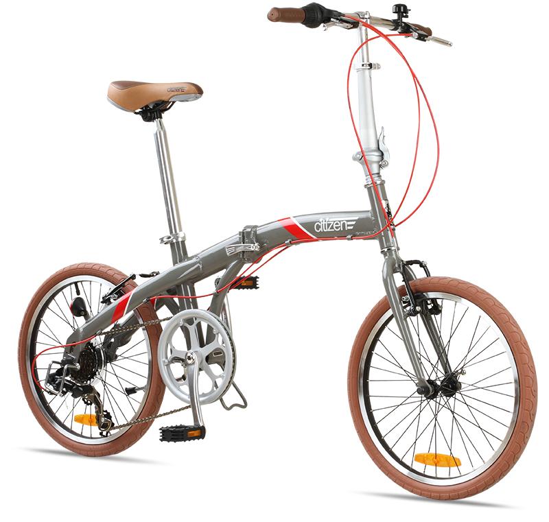Seoul Citizen Bike 20 6 Speed Folding Bike With Alloy Frame